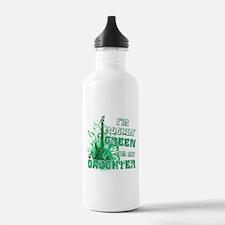 I'm Rockin Green for my Daugh Water Bottle