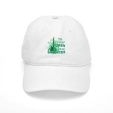 I'm Rockin Green for my Daugh Baseball Cap