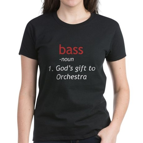 Bass Definition Women's Dark T-Shirt