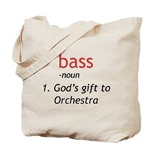 Bass Definition Tote Bag