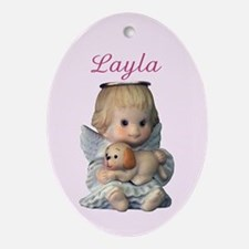 Layla Ornament (Oval)