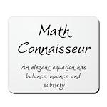 Math Connaisseur Mousepad