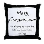 Math Connaisseur Throw Pillow