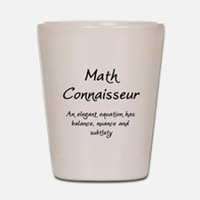 Math Connaisseur Shot Glass