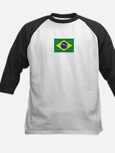 Brazil#12 Kids Baseball Jersey
