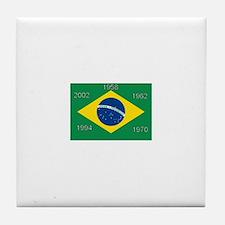 Brazil#12 Tile Coaster