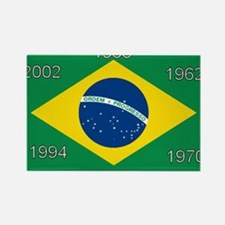 Brazil#12 Rectangle Magnet