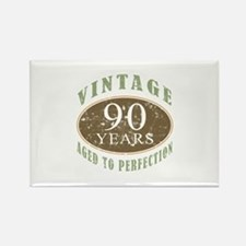 Vintage 90th Birthday Rectangle Magnet