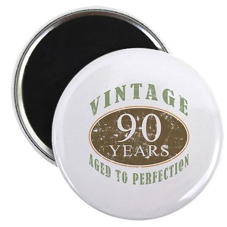 Vintage 90th Birthday Magnet