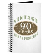 Vintage 90th Birthday Journal