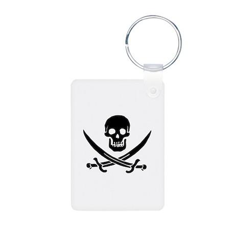 Jolly Roger Aluminum Photo Keychain
