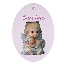 Caroline Ornament (Oval)
