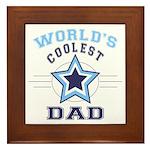 World's Coolest Dad Framed Tile