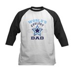 World's Coolest Dad Kids Baseball Jersey