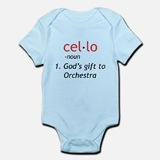 Cello Definition Infant Bodysuit