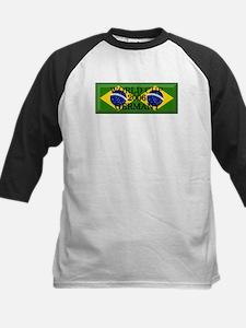 Brazil#14 Kids Baseball Jersey
