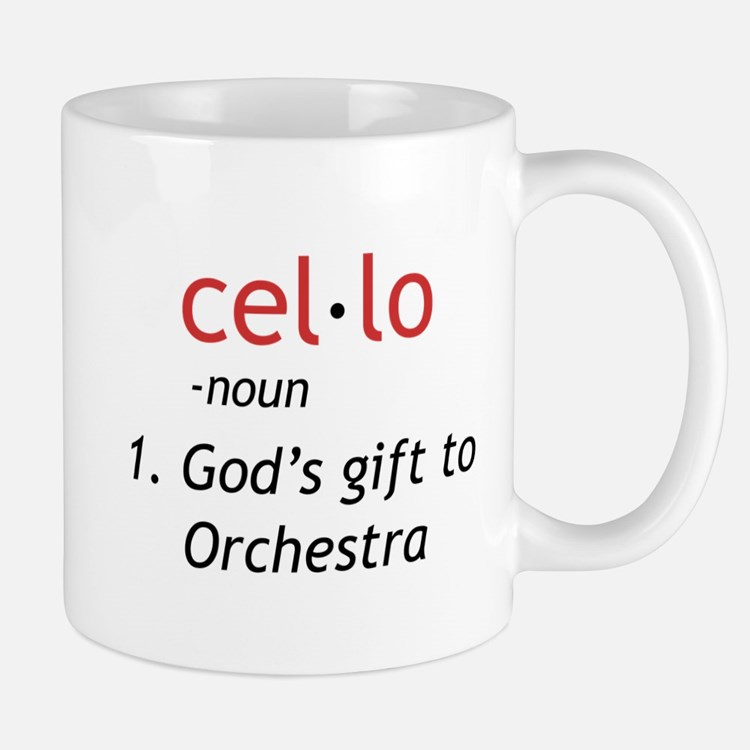 Cello Definition Mug