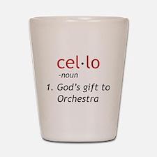 Cello Definition Shot Glass