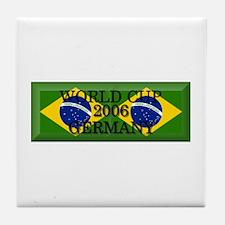 Brazil#14 Tile Coaster