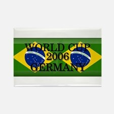 Brazil#14 Rectangle Magnet