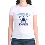 World's Coolest Dad Jr. Ringer T-Shirt