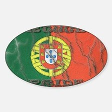 Portugal#1 Oval Decal