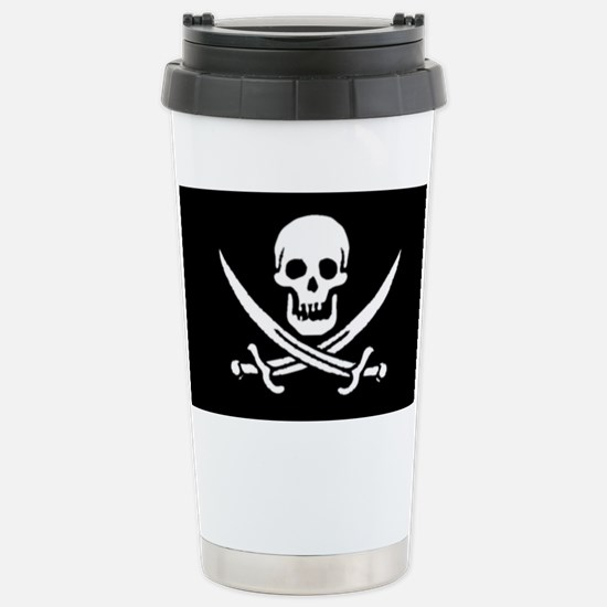 Jolly Roger Stainless Steel Travel Mug