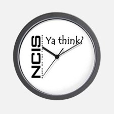 NCIS Ya Think? Wall Clock