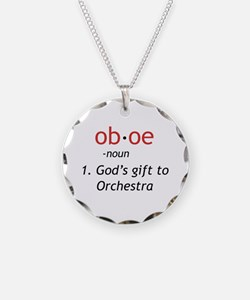 Oboe Definition Necklace