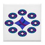 The Blues Tile Coaster