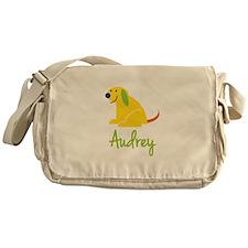 Audrey Loves Puppies Messenger Bag