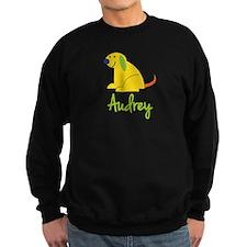 Audrey Loves Puppies Sweatshirt