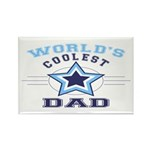 World's Coolest Dad Rectangle Magnet (100 pack)