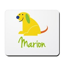 Marion Loves Puppies Mousepad