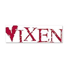 Funny Vixen valentine Car Magnet 10 x 3