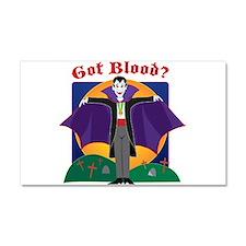 Got Blood? Car Magnet 20 x 12