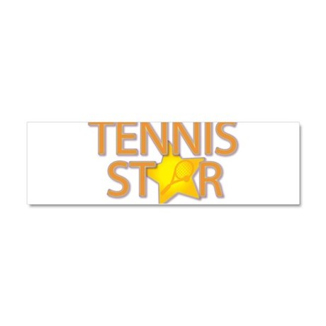 Tennis Star Car Magnet 10 x 3