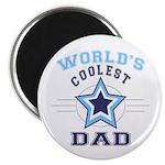 World's Coolest Dad Magnet