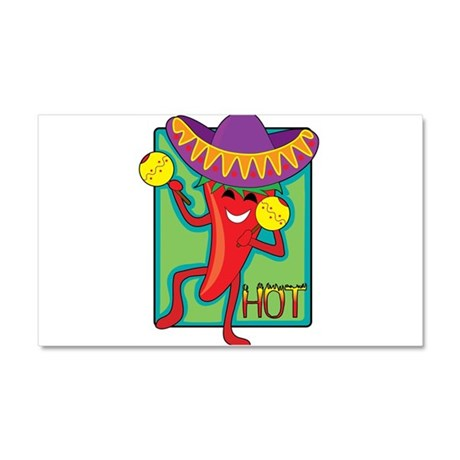Mexican Chili Car Magnet 20 x 12