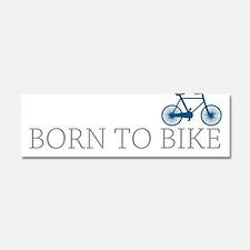 Born to Bike Car Magnet 10 x 3