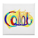 """'Caleb"""" Tile Coaster"""