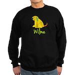 Wilma Loves Puppies Sweatshirt (dark)