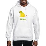 Wilma Loves Puppies Hooded Sweatshirt