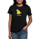Wilma Loves Puppies Women's Dark T-Shirt