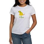 Wilma Loves Puppies Women's T-Shirt