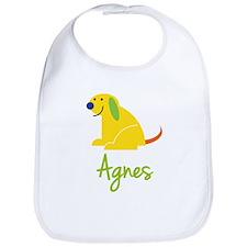Agnes Loves Puppies Bib
