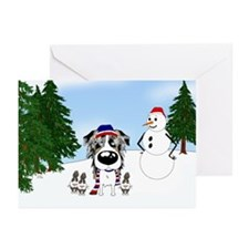 Aussie Snow Greeting Cards (Pk of 10)