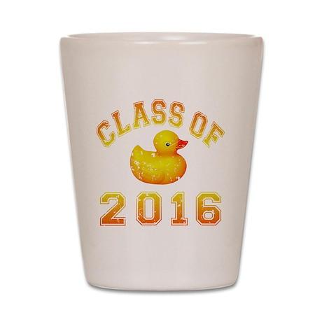 Class Of 2016 Duckie Shot Glass