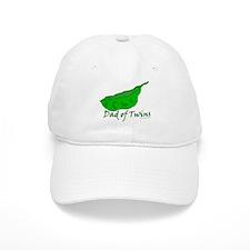 Dad of Twins - Pod Baseball Cap