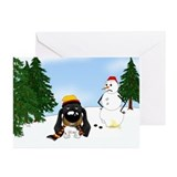 Doxie christmas Greeting Cards (10 Pack)